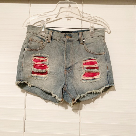 MINKPINK Pants - Minkpink Denim Shorts